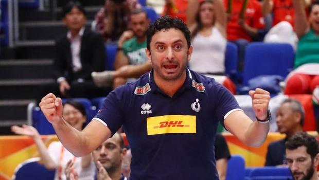 Davide Mazzanti, c.t. della nazionale femminile di volley