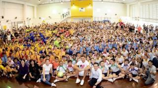 Cristiano Ronaldo a Singapore: che folla per lui!