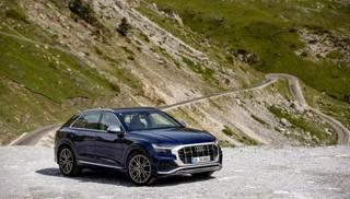 Audi SQ8: foto statiche