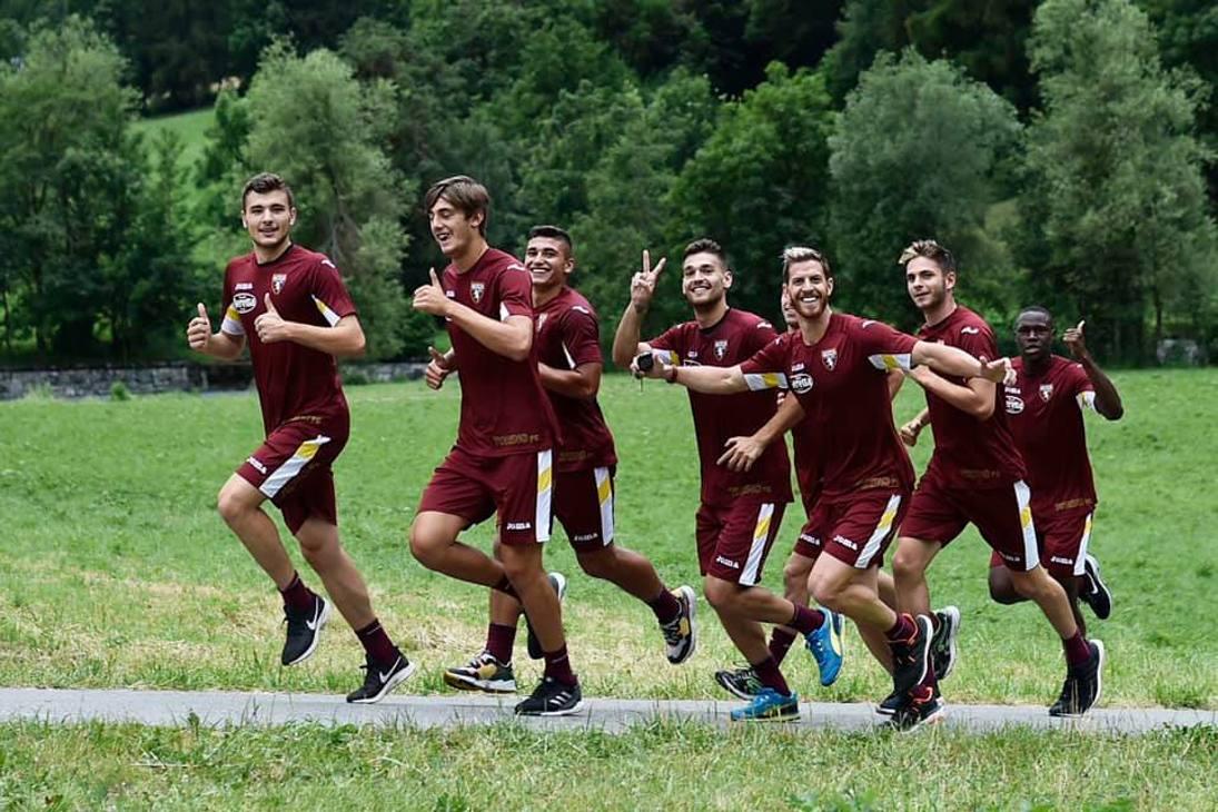 Primi allenamenti a Bormio per il Torino. Il tecnico Mazzarri ha alternato lavori atletici ad esercitazioni tecnico-tattiche