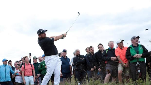 Shane Lowry, 32 anni, cerca il primo Major in carriera. Epa