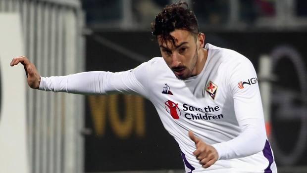 Federico Ceccherini con la maglia della Fiorentina