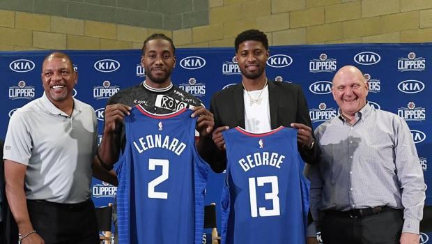 Leonard e George, nuove stelle dei Clippers