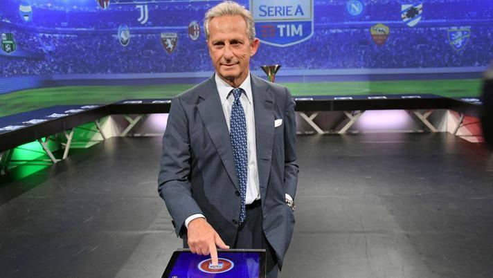 Gaetano Micciché, presidente della Lega di Serie A. Lapresse