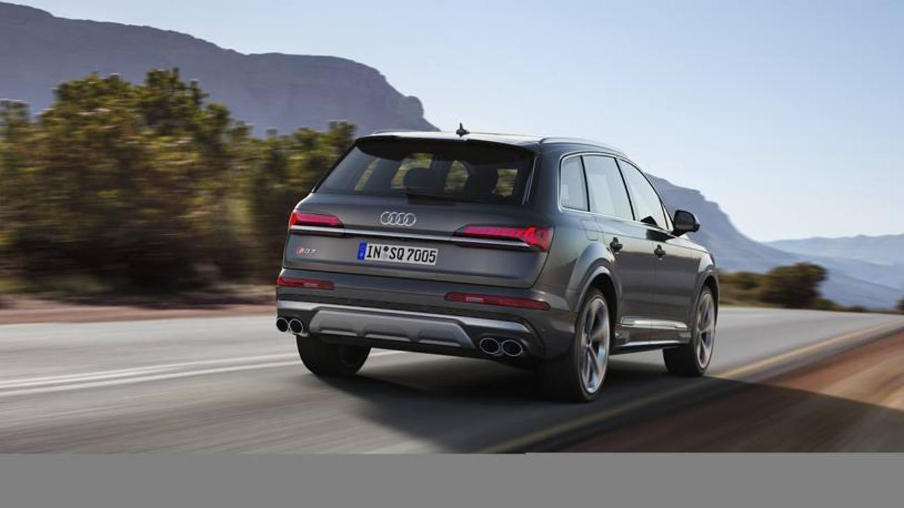 Audi SQ7 TDI: la Q7 più potente