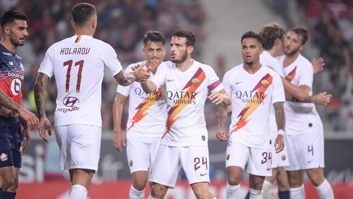 Altro che valigie: Dzeko fa due assist e la Roma batte 3-2 il Lilla di ...