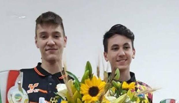 Da sinistra, Alex Incerti e Nicolò Lambertini