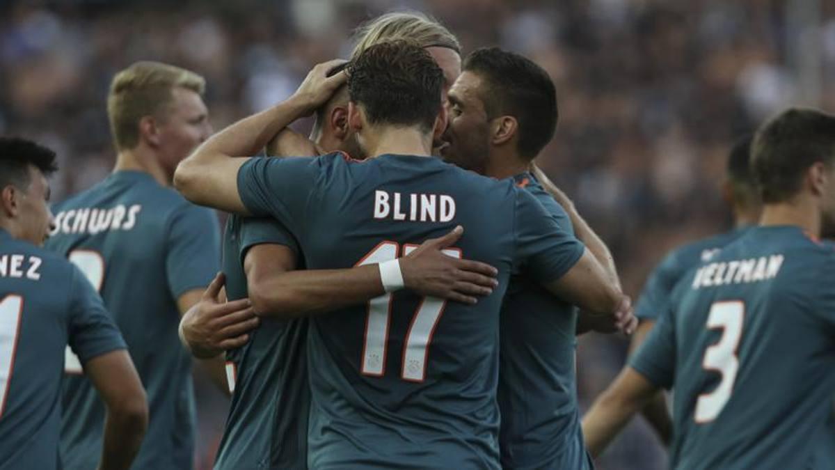 Ajax, che brivido! Huntelaar chiude la doppia rimonta: col Paok è 2-2