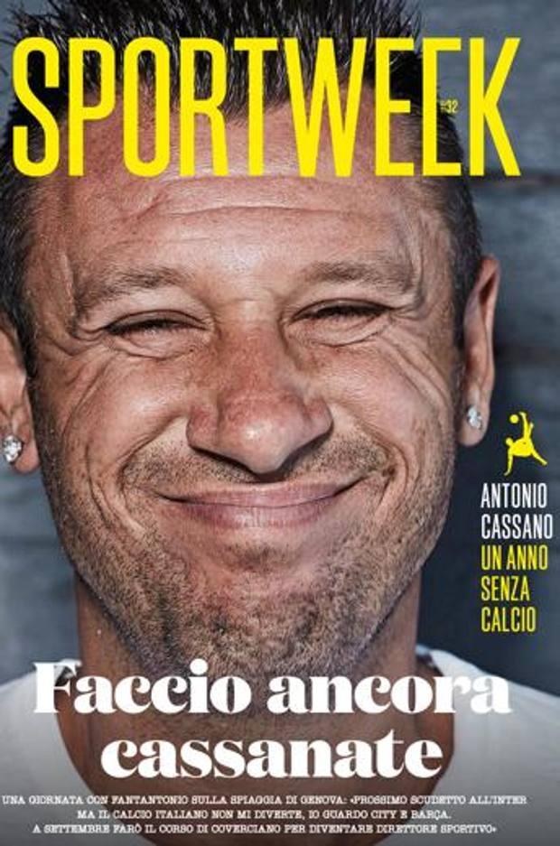 La copertina di Sportweek