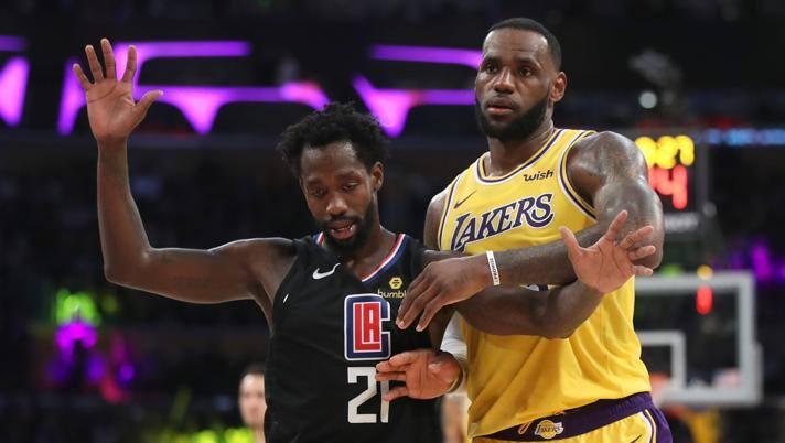 Nba Calendario.Nba Ecco Il Calendario E Subito Clippers Contro Lakers