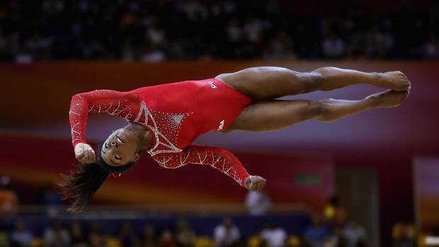 Simone Biles, 22 anni. Getty