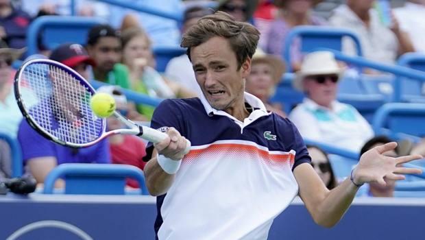 Daniil Medvedev, 23 anni, al primo trionfo in un Masters 1000. Ap