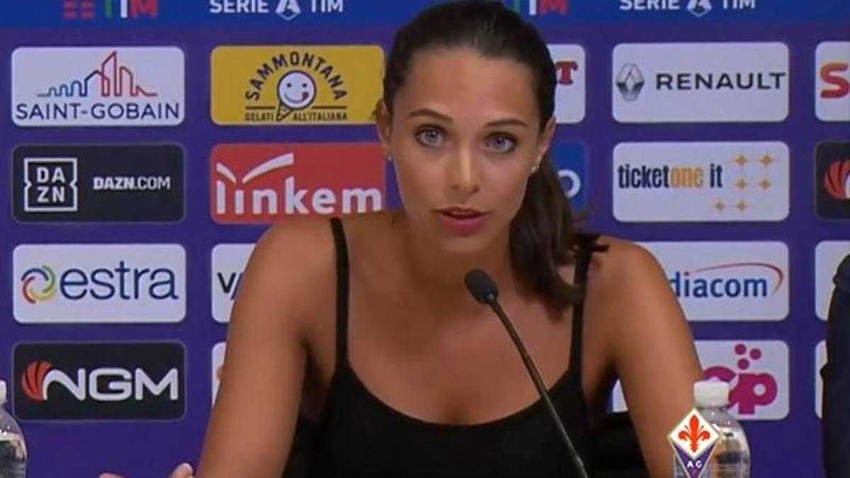 Ecco chi è Alessia, l'interprete di Ribery che ha stregato i viola e il web