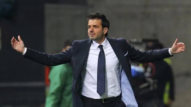 Andrea Stramaccioni ai tempi dell'Udinese