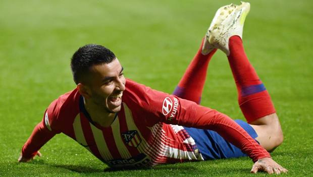 Angel Correa, 24 anni, attaccante dell'Atletico Madrid. Afp