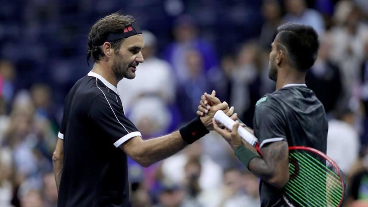 Federer lascia un set all'indiano Nagal, Serena spazza via la ...