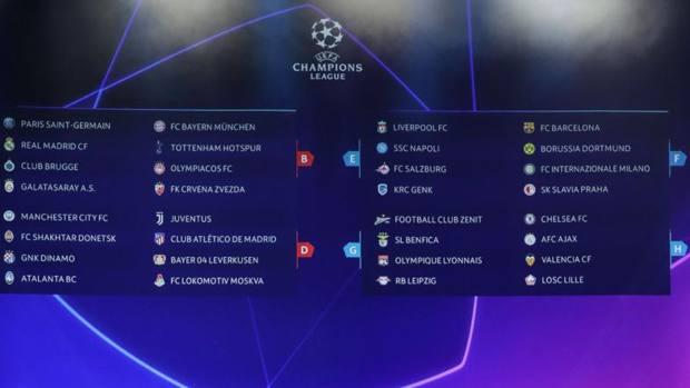 Partite Champions Calendario.Champions League News Risultati E Classifiche Calcio