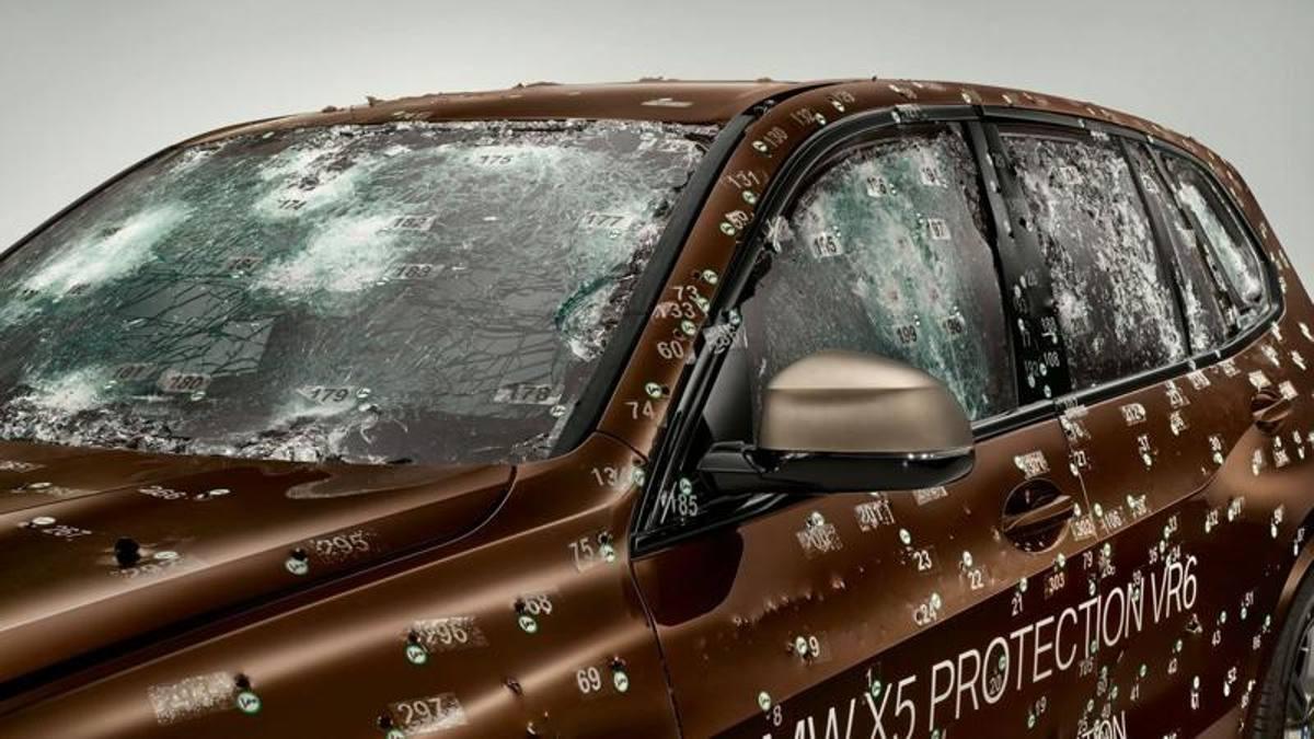 Bmw X5 Protection VR6: l'auto più sicura dell'IAA di Francoforte