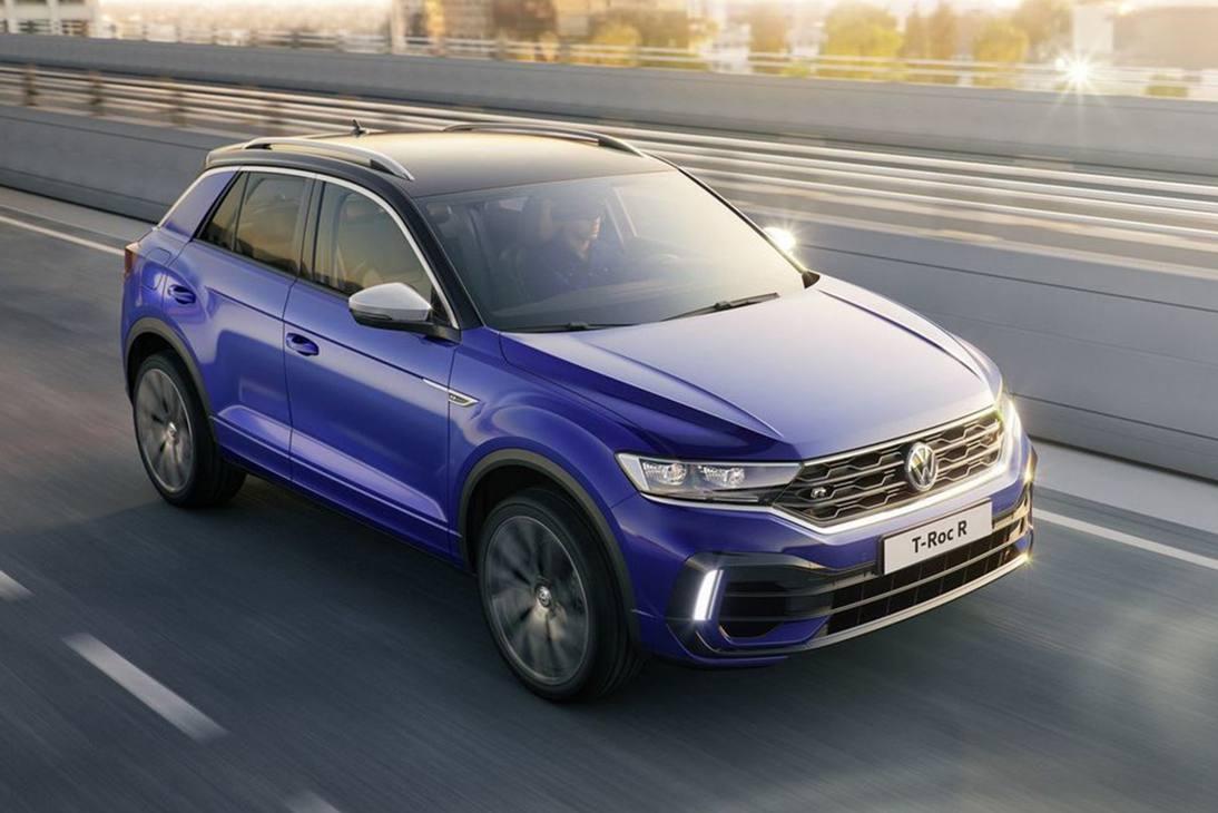 Il Volkswagen T-Roc R verrà presentato al salone di Francoforte 2019