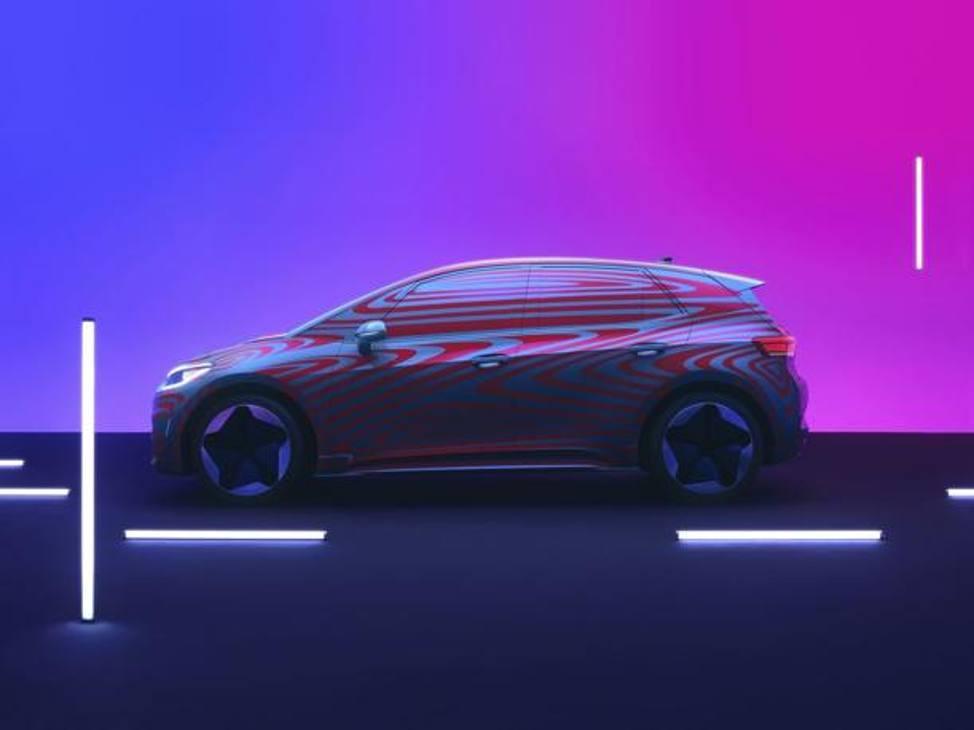 La Volkswagen ID.3 elettrica sarà svelata al Salone di Francoforte 2019