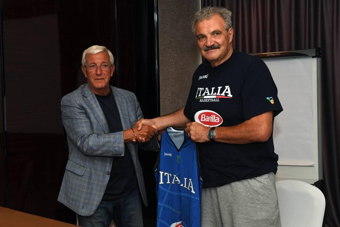 Marcello Lippi col c.t. Meo Sacchetti Ciam/Cast