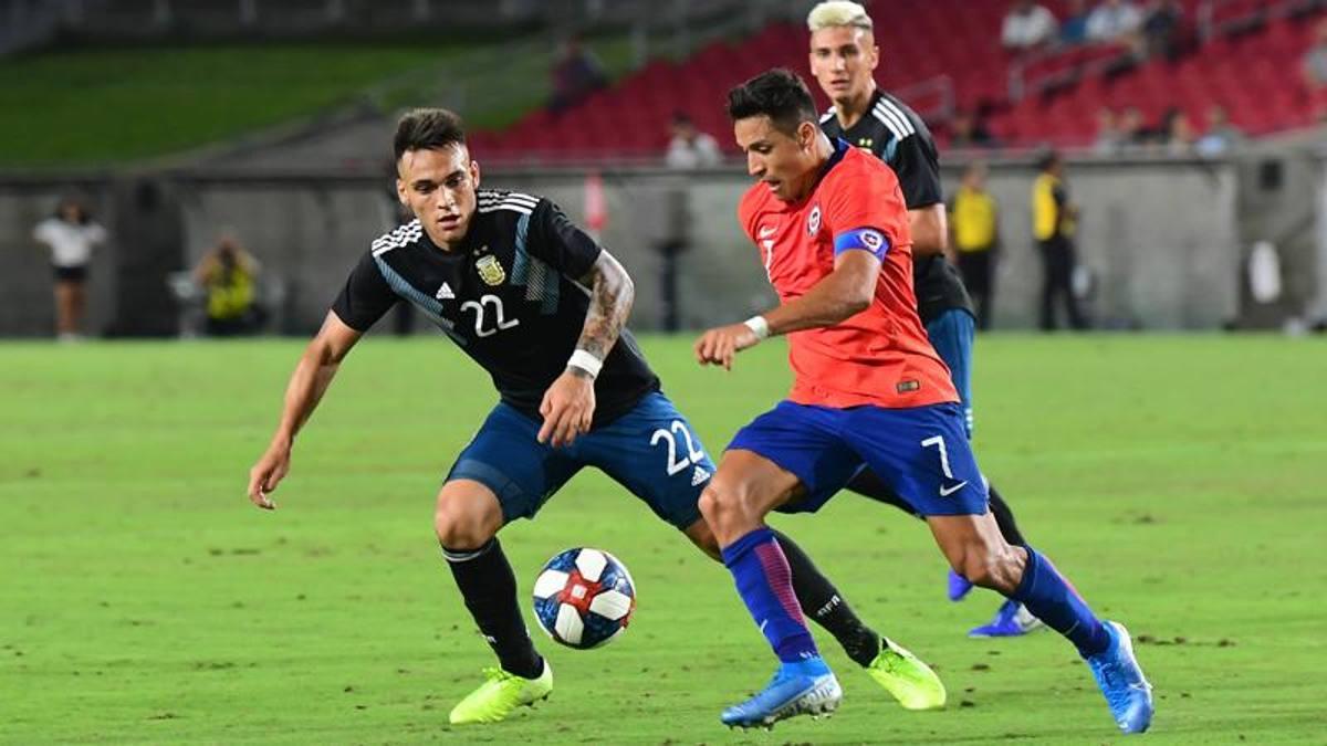 Cile-Argentina, manca solo il gol nella sfida nerazzurra tra Lautaro e ...