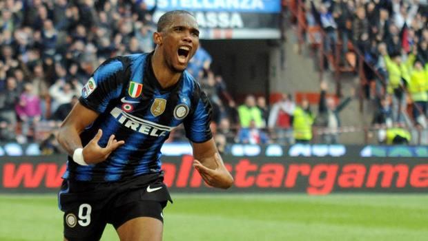 Samuel Eto'o, 38 anni, all'Inter dal 2009 al 2011. LaPresse