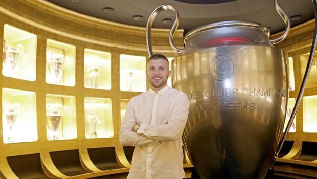 Ante Rebic, 25 anni, attaccante croato del Milan. LaPresse
