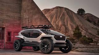 Nuova Audi AI:Trail quattro: che potenza! Le immagini