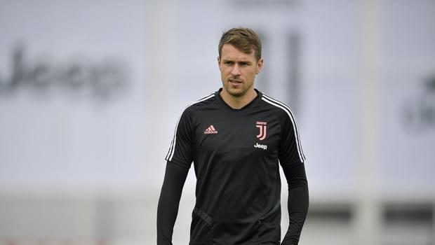 Aaron Ramsey, centrocampista della Juve. Getty