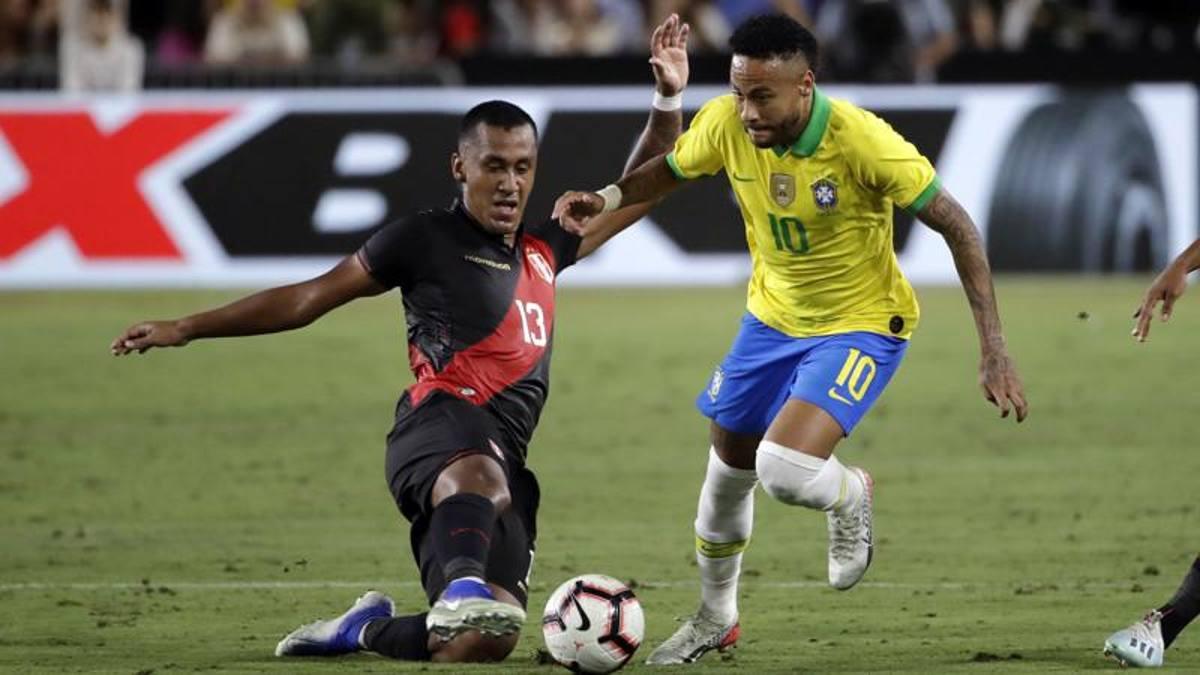 Neymar part-time non basta al Brasile: vince il Perù 1-0