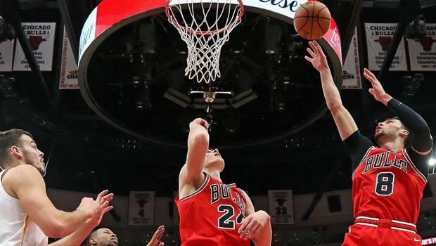 Lauri Markkanen e Zach LaVine, stelline dei Bulls. Ap