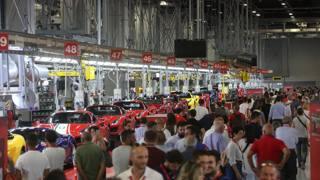 In 24 mila al Ferrari Family Day a Maranello: le immagini