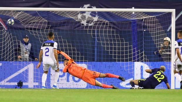 Il gol di Leovac