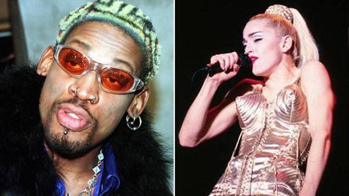 """Rodman: """"Madonna mi offrì 20 milioni per metterla incinta"""""""