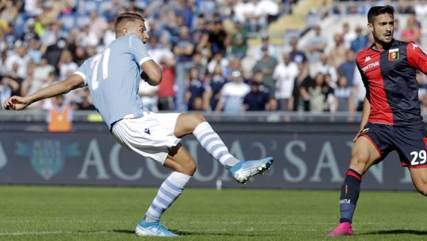 Il gol di Milinkovic-Savic