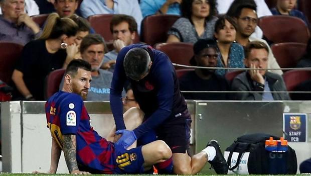 L'infortunio di Messi