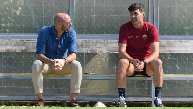 Petrachi con Fonseca