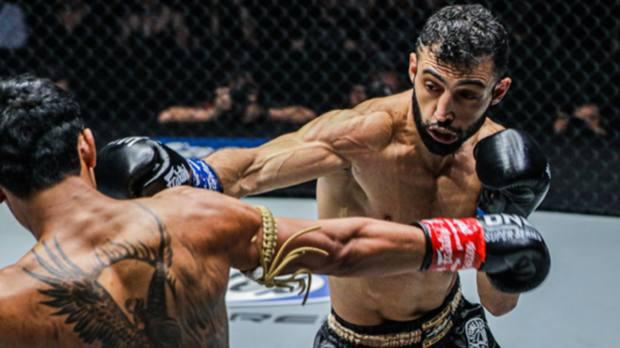 Giorgio Petrosyan sul ring