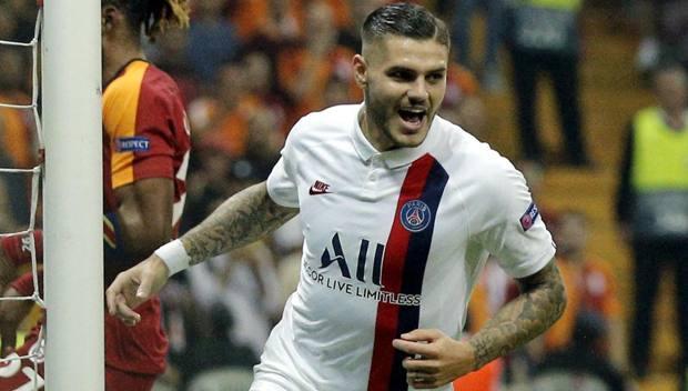 Mauro Icardi, 26 anni, attaccante del Psg. Getty