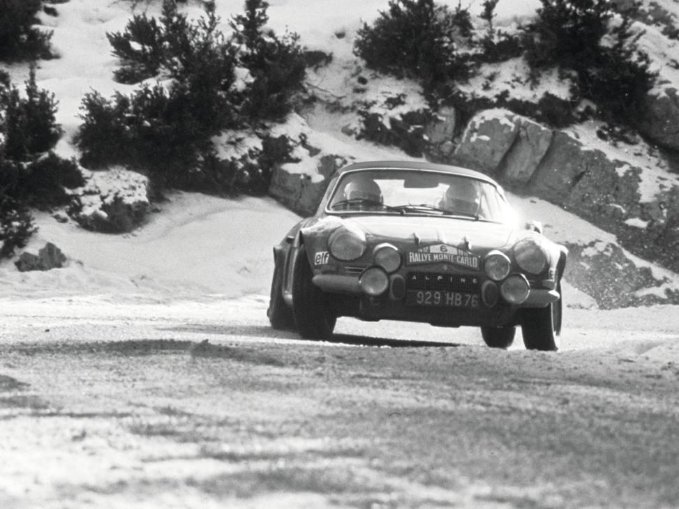 Alpine A110 storica