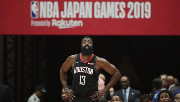 James Harden, 30 anni, ai Rockets dal 2012. Ap