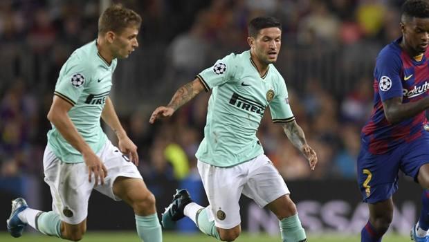 Barella e Sensi in maglia Inter