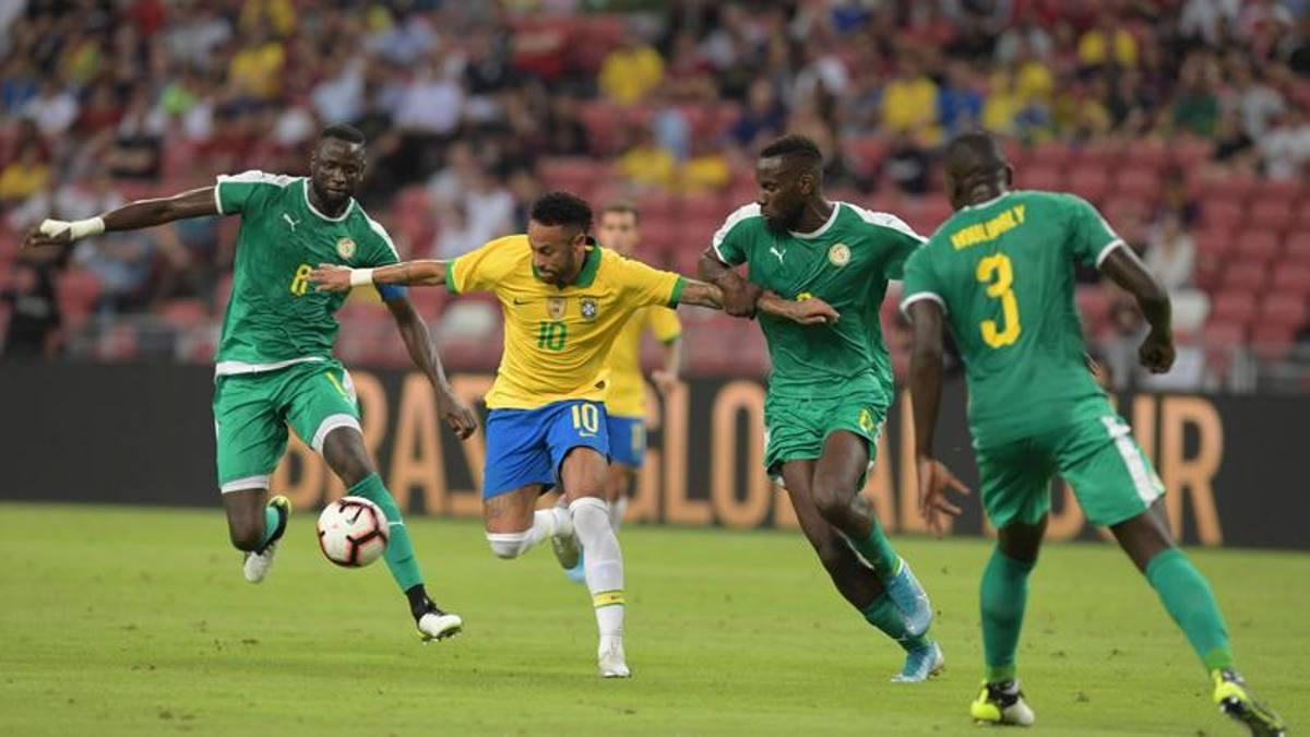 Il Senegal ferma il Brasile: a Singapore finisce 1-1