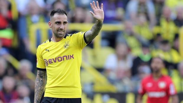 Alcacer, attaccante del Borussia Dortmund