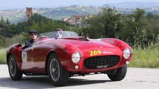 Dalla 166 MM alle Monza SP: le barchette Ferrari presenti a Padova