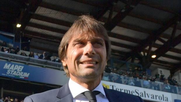 Antonio Conte, prima stagione sulla panchina dell'Inter. LaPresse