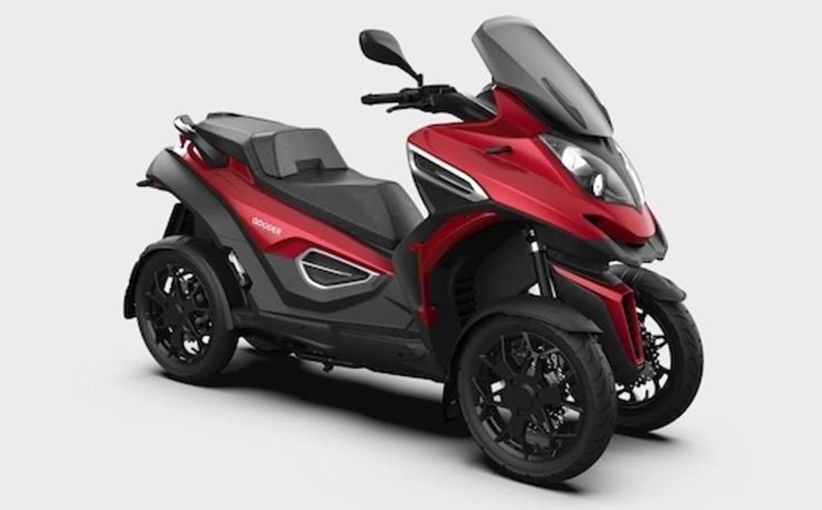 Il nuovo Qooder, lo scooter quattro ruote con motore da 399 cmc