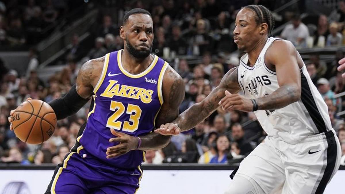 Davis-LeBron, due mostri! E i Lakers suonano la quinta. Resa Spurs ...