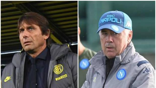 Conte e Ancelotti